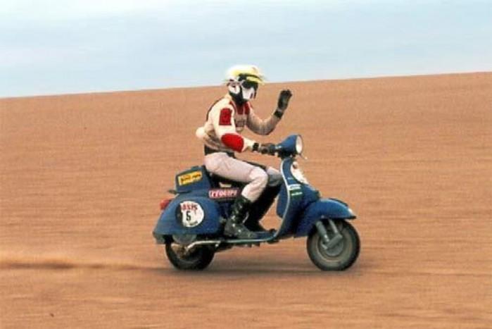 Ivan Czerniawski na trasie Dakaru