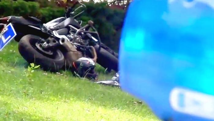 Smiertelny wypadek kursanta kurs na prawo jazdy A plan manewrowy Warszawa Mokotow