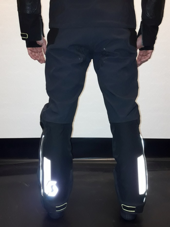 scott spodnie tekstylne odblaski
