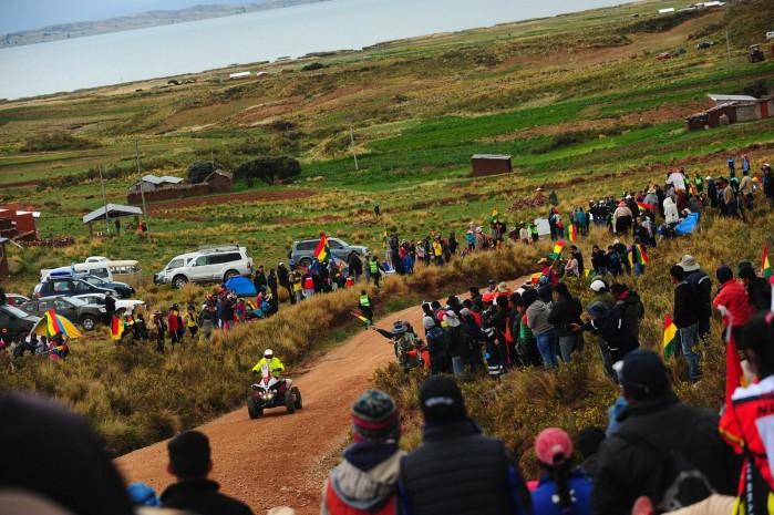 Kamil Wisniewski na trasie Rajdu Dakar 2018
