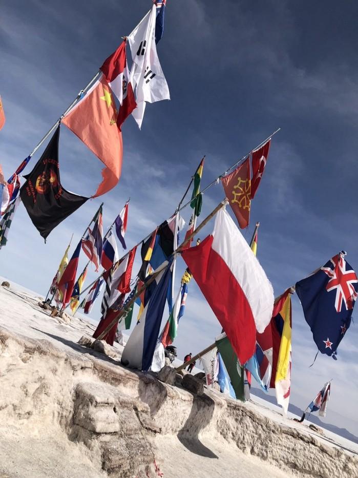 Rajd Dakar 2018 flagi