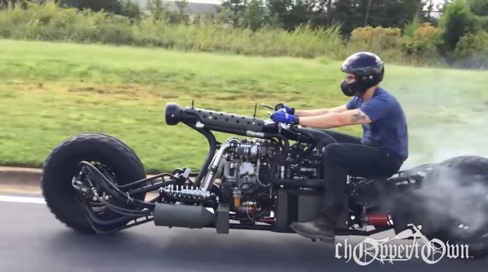 turbo diesel custom bike
