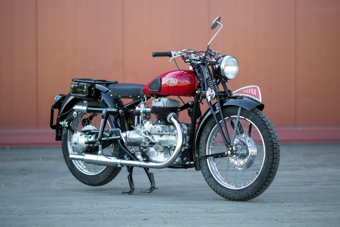 20 12 2017 Gilera Marte Solo 1946 Classic Motorcycle Pipeburn BIGS 01