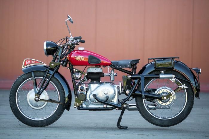 20 12 2017 Gilera Marte Solo 1946 Classic Motorcycle Pipeburn BIGS 02