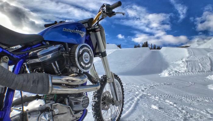 2018 01 Harley Davidson Snow Hill Climb debuts at X Games Aspen