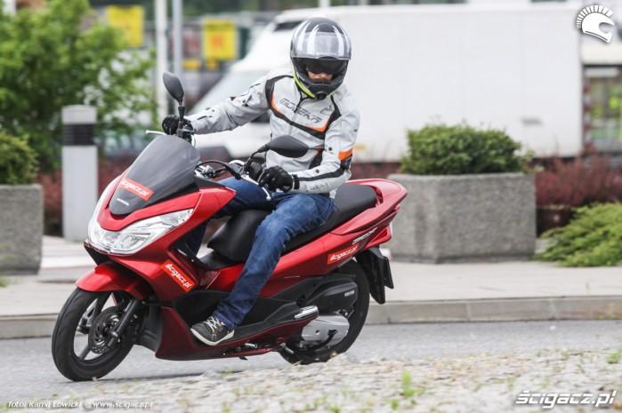 miejska Honda PCX Scigacz pl
