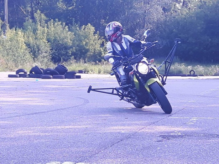 Slide Bike w akcji