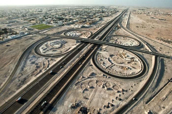 Infrastruktura drogowa Katar