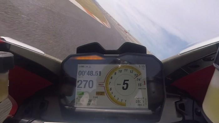 Ducati Panigale V4 tor