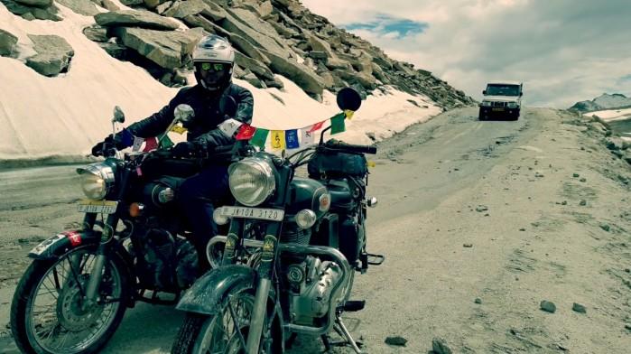 Himalaje na motocyklu
