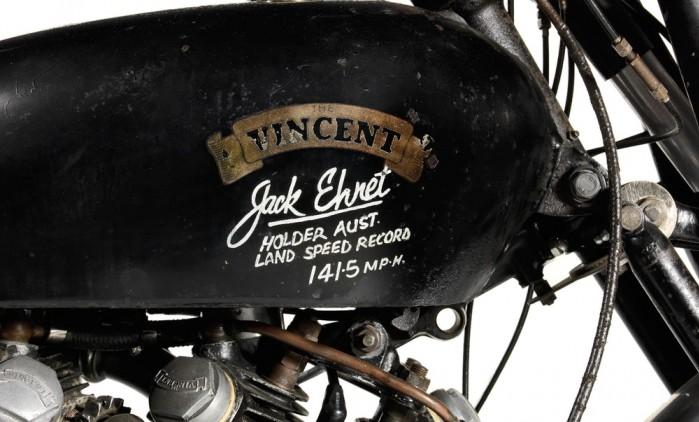 usd929000 vincent black lightning new world record 13