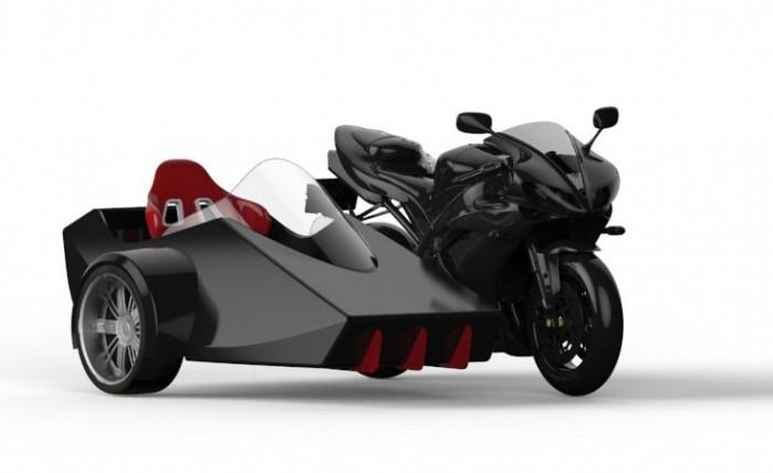 Yamaha R1 slidecar projekt