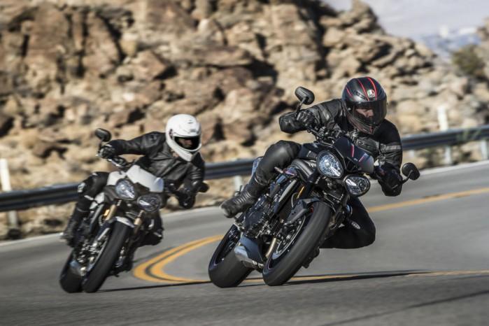 Triumph Speed Triple 2018 winkle