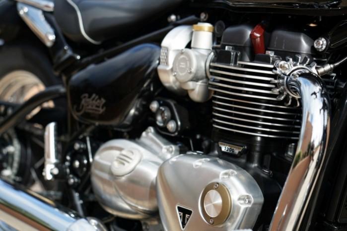 Triumph Bonneville Speedmaster motor