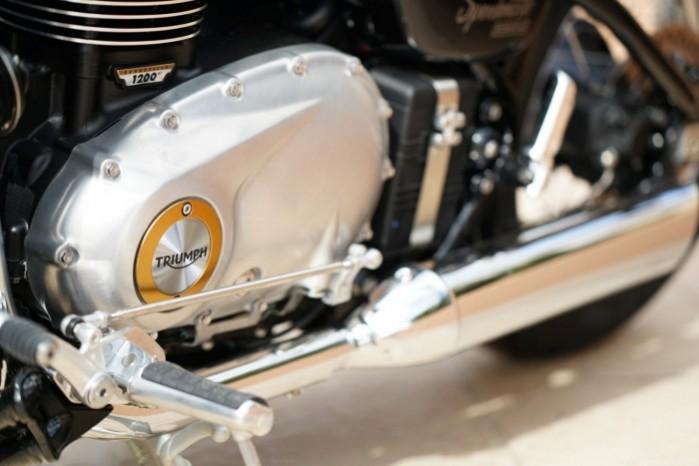 Triumph Bonneville Speedmaster silnik