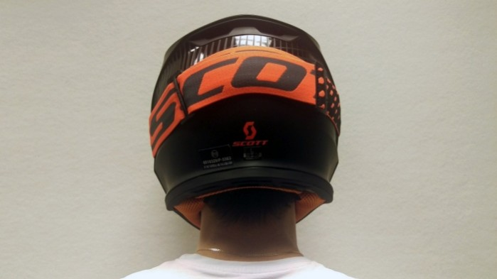 Kask Scott 550 Hatch tyl