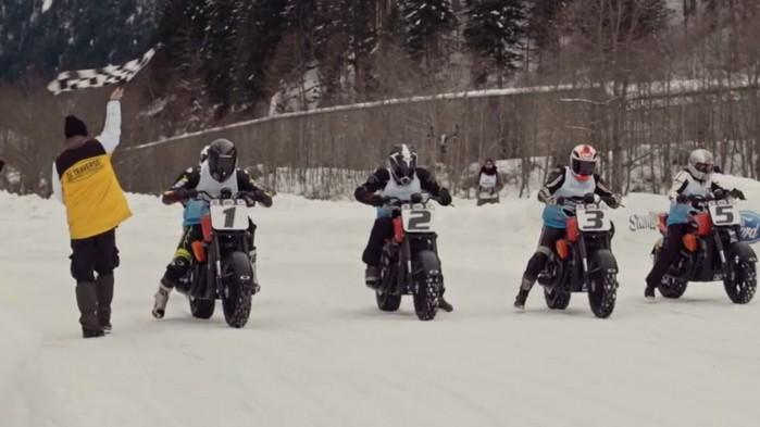 Harley Davidson Snowquake Street Rod 750 2018 start