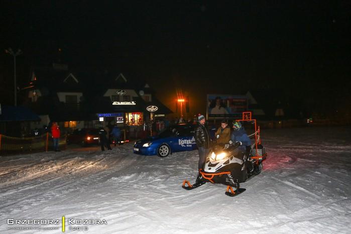 Subaru Impreza WRX skuter sniezny