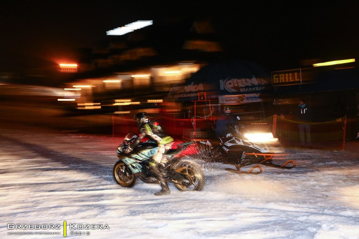Yamaha R6 skuter sniezny