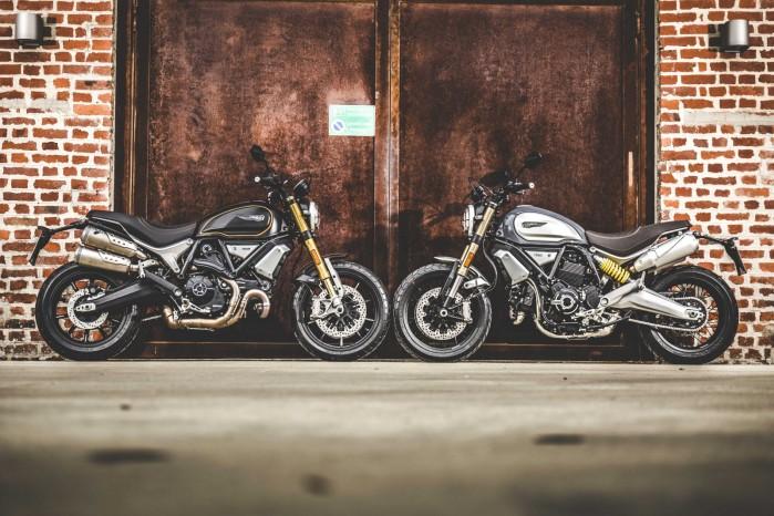 Ducati Scrambler 1100 statyka
