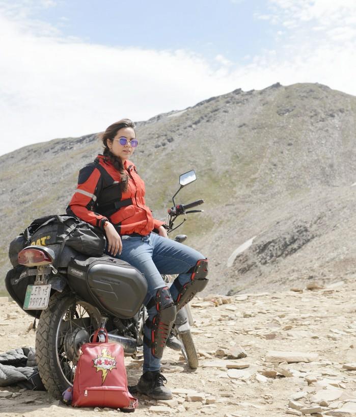 Zenith Irfan w motocyklowej podrozy 1