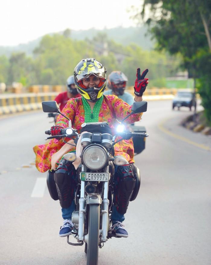 Zenith Irfan w motocyklowej podrozy 2