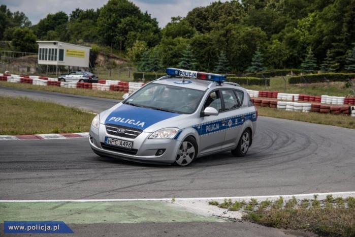 policja na torze