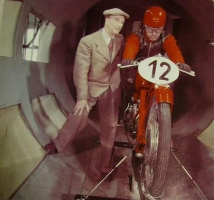 Moto Guzzi tunel aerodynamiczny