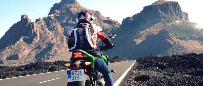Teneryfa na motocyklu