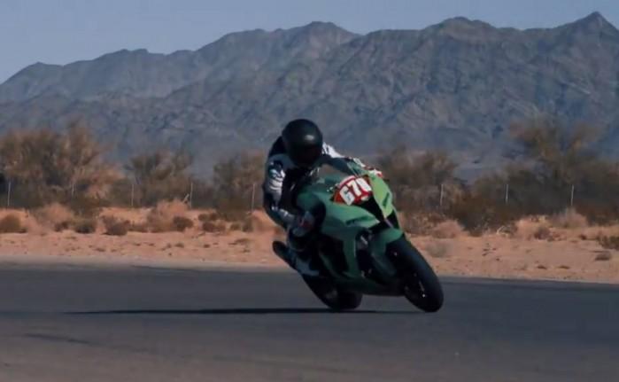 Lewis Hamilton Kawasaki ZX 10R