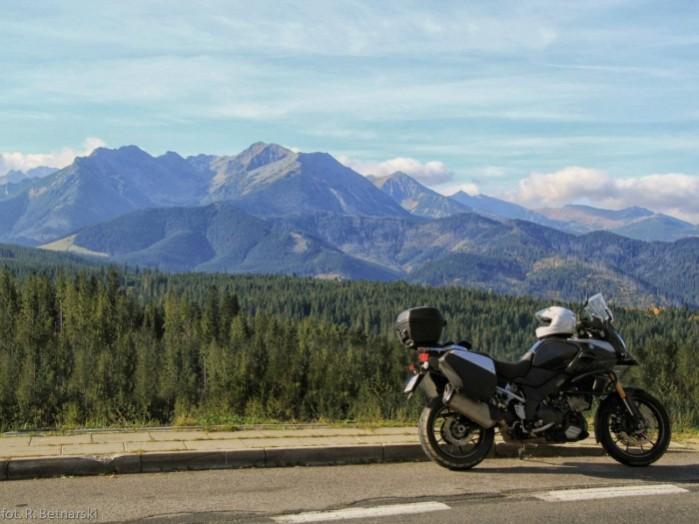 motocyklem w gory