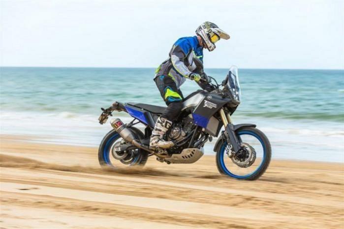 Yamaha Tenere 700 akcja