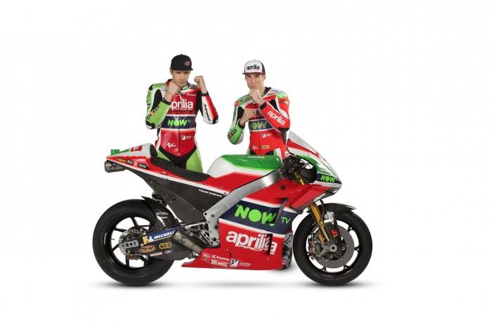 2018 Aprilia MotoGP Scott Redding Aleix Espargaro 01