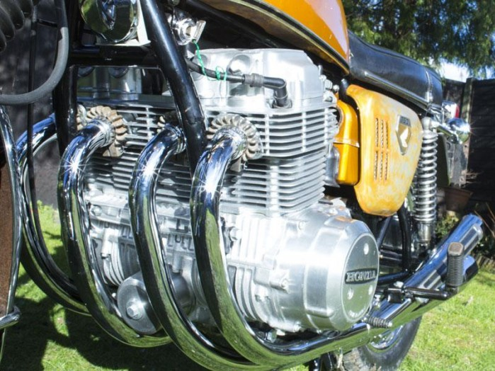 Honda CB750 silnik