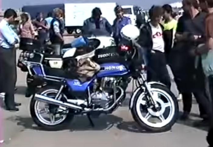 Honda Gielda motocykli w PRL 1987