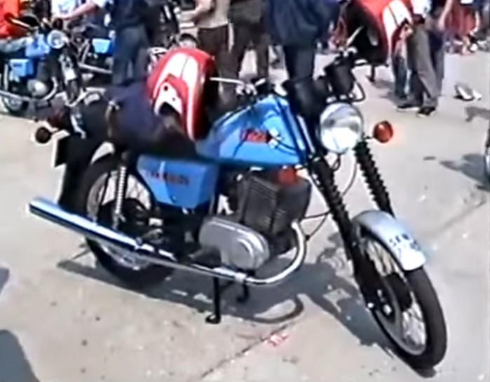 MZ Gielda motocykli w PRL 1987