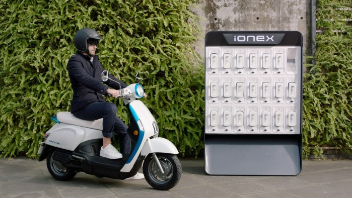 kymco 2018 ionex electric scooter 4 1