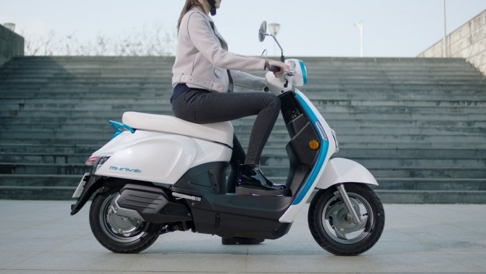 kymco 2018 ionex electric scooter 6 1