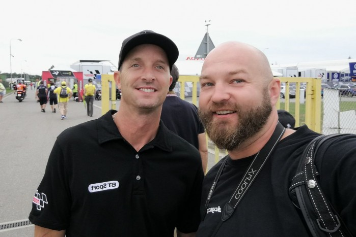Colin Edwards Jarek Benito Czech