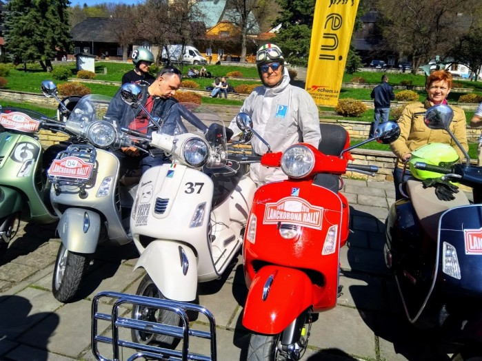 Lanckorona Rally 2018 Vespa Club