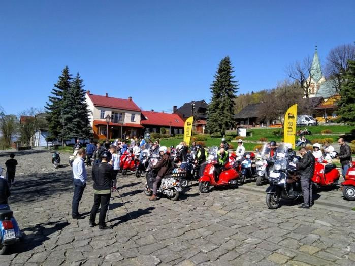 Lanckorona Rally 2018 Vespa Club Polska