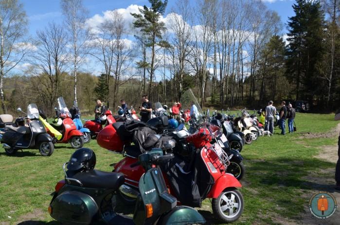 Lanckorona Rally 2018 polana 1