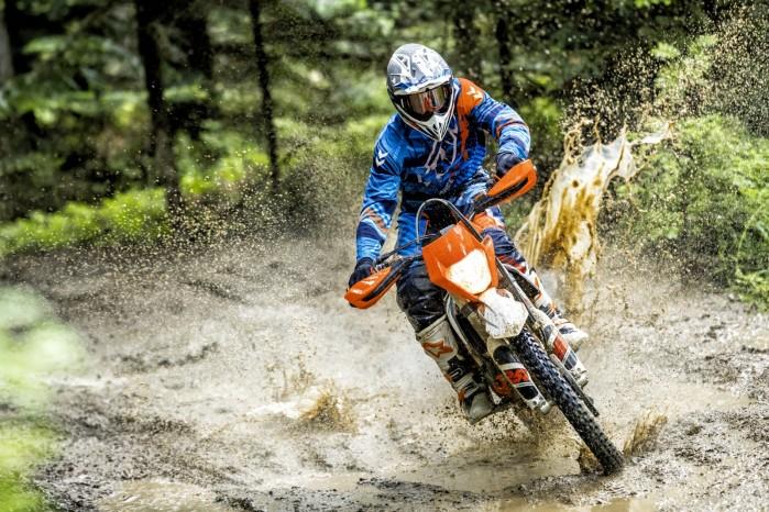 KTM FREERIDE 250 F MY 2018 akcja