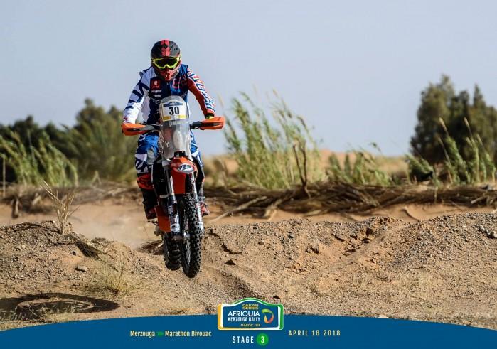Krzysztof Jarmuz stage 3 Merzouga Rally 2018