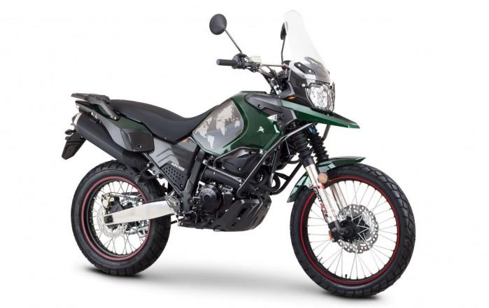 Romet ADV 400 2017 ser zielony