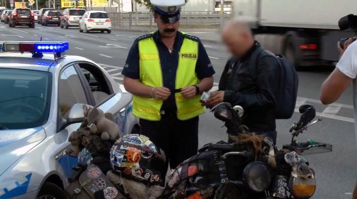 rat bike i policja