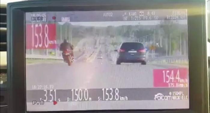 nagranie z wideorejestratora
