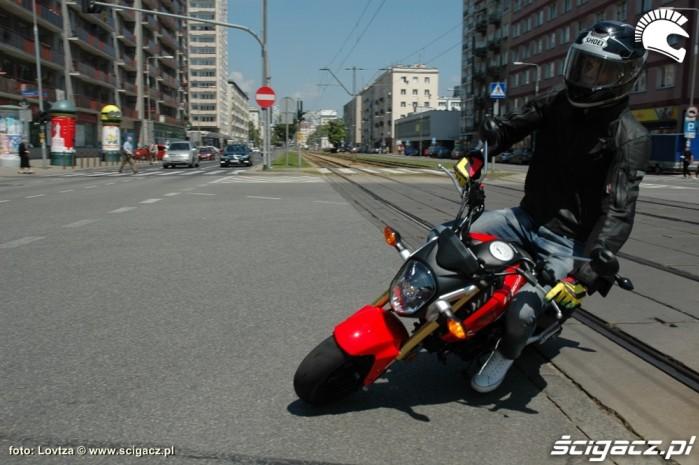 Jazda Honda MSX 125 2014
