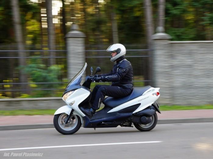 Suzuki Burgman 125 akcja