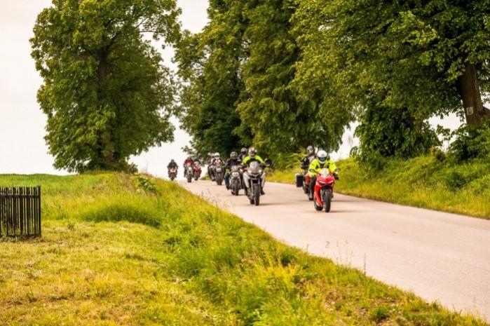 Wiosna z Ducati 2018 jazda